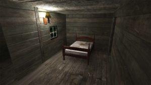 Evil Dead: Virtual Nightmare - Cabin bedroom